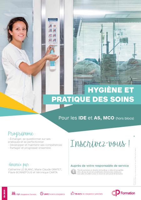 Formation Hygiène et pratique des soins